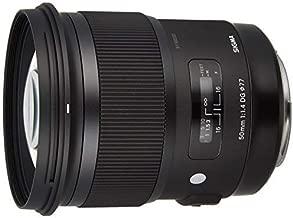 Sigma 50mm F1.4 DG HSM Art Lens for Canon Cameras - International Version (No Warranty)