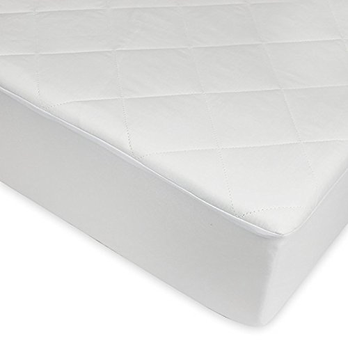 Sunshine Comforts 4ft Small Double Quilted Mattress Protector Cover Easy Care 30cm Deep Fitted Bedding Protector: Non Allergenic & Anti Dustmite (4ft Small Double)