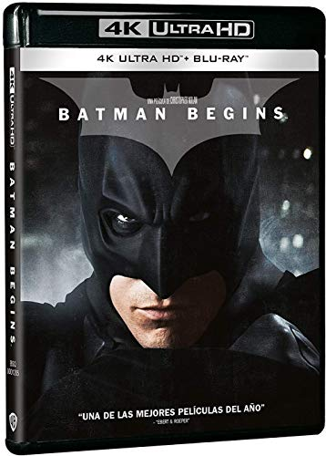 Batman Begins 4k UHD [Blu-Ray]