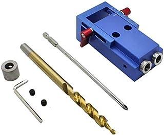 Kit d'outils de travail du bois Mini Kreg Style poche trou trou oblique pour menuiserie Jig Step