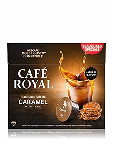 Café Royal Caramel 48 Nescafé®* Dolce Gusto®* kompatible Kaffeekapseln, 3er Pack (3 x 16 Kapseln)