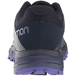 Salomon Women's TRAILSTER W Trail Running Shoe, crown blue/navy blazer/purple opulence, 11 M US