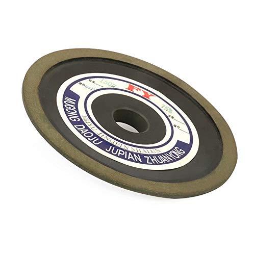 Preisvergleich Produktbild 12, 7 cm Bakelit Harz Diamantschleifscheibe Rotary Schleifwerkzeug für Hartmetall Stahl 10 mm dick,  125x10x32x8mm 150