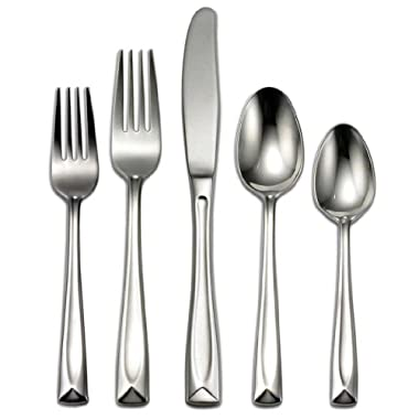 Oneida Lincoln 65-Piece Flatware Sets, Service for 12