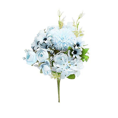 Flores Para Navidad Turquesa flores para navidad  Marca Uticon