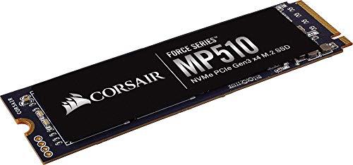 Corsair CSSD-F240GBMP510 Force-Serie MP510 240 GB NVMe PCIe Gen3 x 4 M.2-Solid-State-Laufwerk