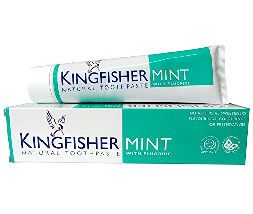 Kingfisher 100 ml Mint Toothpaste - 3-Pack