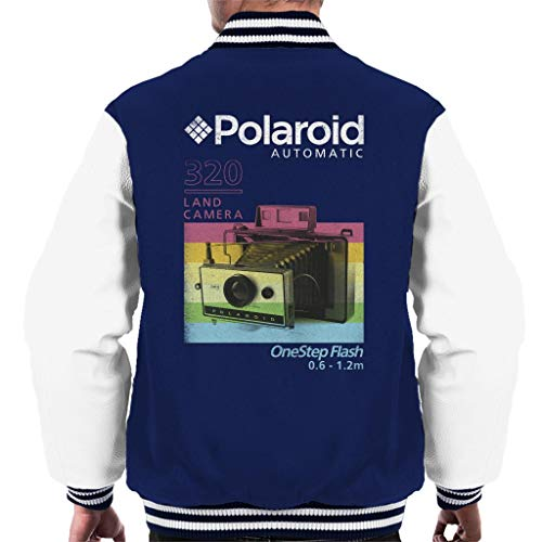 Polaroid 320 Land Camera Men's Varsity Jacket