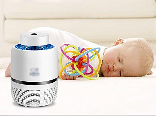 QWHK Zanzara lampada ménage photocatalytique senza radiazioni silenzioso elettronico anti-zanzare zanzara uccidere zanzara Camera Lampada USB Potenza