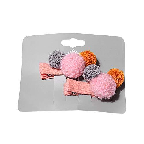 Shiningup Mini pince à cheveux pour bébés filles 1 paire de pinces à cheveux