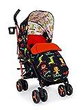 Cosatto Silla de paseo Supa 3 – Cochecito ligero desde el nacimiento hasta 25 kg – Paragüero, cesta de la compra grande, saco de pie, sk8t kidz