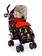 Cosatto Supa 3 Pushchair – Lightweight Stroller from Birth to 25Kg - Umbrella Fold, Large Shopping B...
