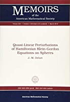 Quasi-Linear Perturbations of Hamiltonian Klein-Gordon Equations on Spheres (Memoirs of the American Mathematical Society, 1103)