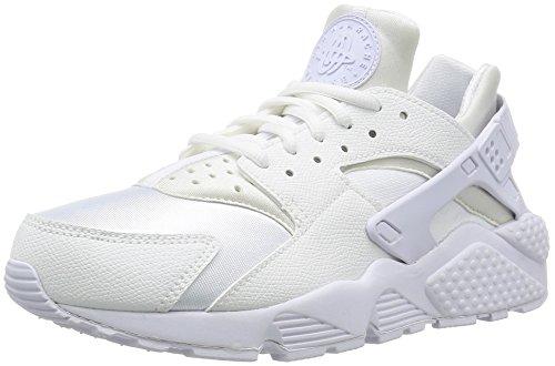 Nike WMNS Air Huarache Run, Women's Trainers, White (White/White), 7.5 US