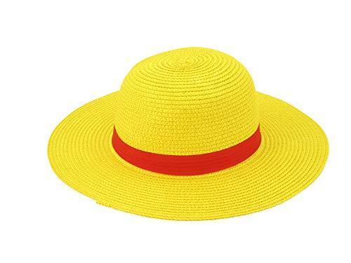 Straw Hat Cosplay Costume (Yellow)
