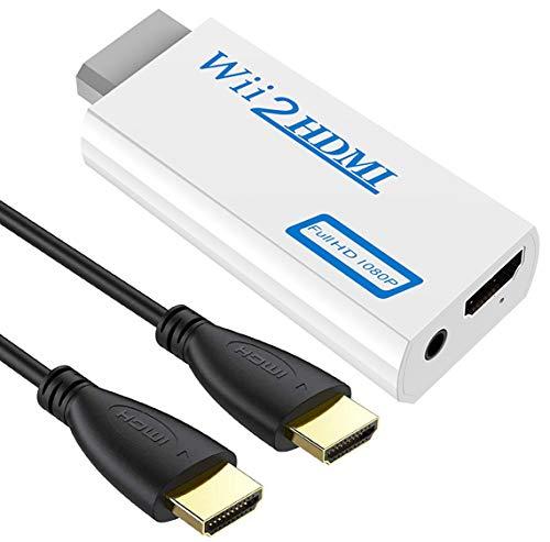 Adaptador wii a HDMI, conversor de Wii a HDMI, adaptador HDMI de...