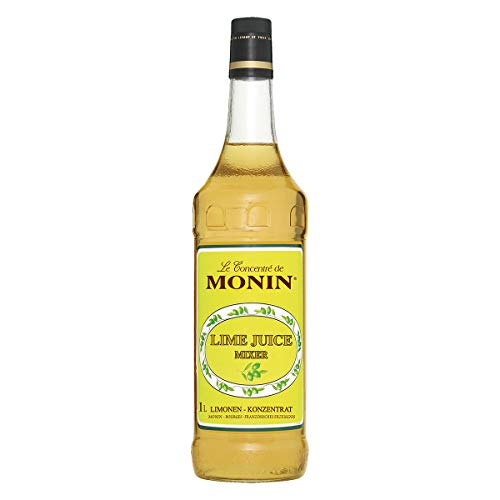 Monin Lime Juice Cordial Mixer Sirup 1 Liter