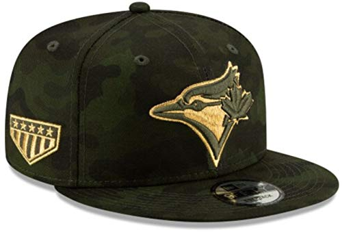 New Era Toronto Blue Jays 2019 Armed Forces Day 9FIFTY Snapback MLB Cap, One Size