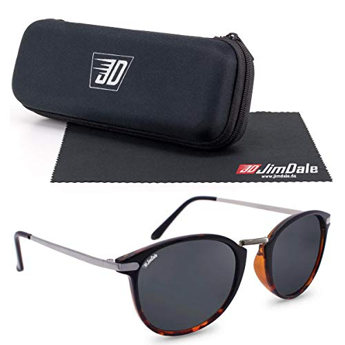 JD Jim Dale Gafas de sol Brady Havana marrón UV400 Mujer Hombre