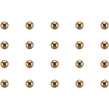 Precision Balls 1.5mm Solid Chrome Steel G25 for Bearing Keychain Wheel 250pcs