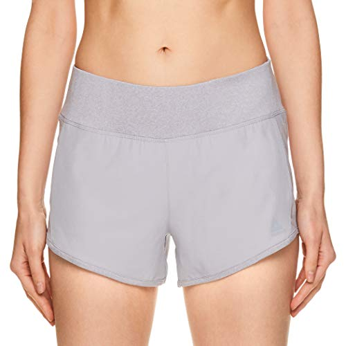 Reebok Women's Running Shorts, Relaxed Fit and Mid-Rise Waist Training Shorts