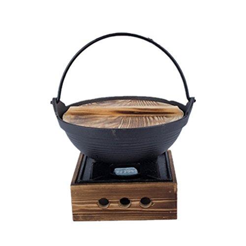 XICHENGSHIDAI - Juego de ollas de hierro fundido para