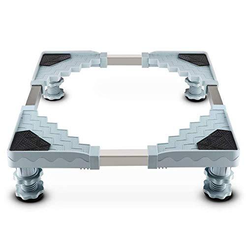 Zócalo Para Lavadora Nevera Base Ajustable Con 4 Pies Regulables Soporte Suelo Altura Regulable Base Para Secadoras Neveras Congeladores,52cm ~ 70cm,4pillars