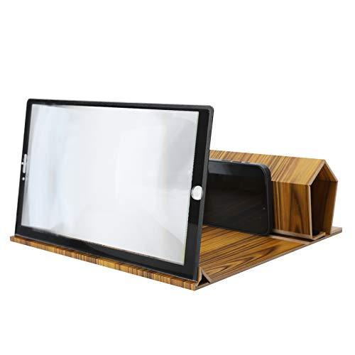 Amplificador de Pantalla de teléfono de 12 Pulgadas, Lupa de Video 3D...