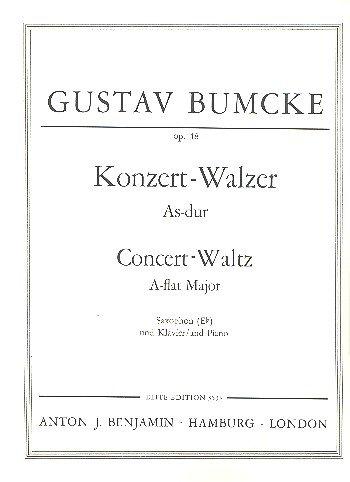 Konzert-Walzer As-Dur: op. 48. Alt-Saxophon und Klavier.
