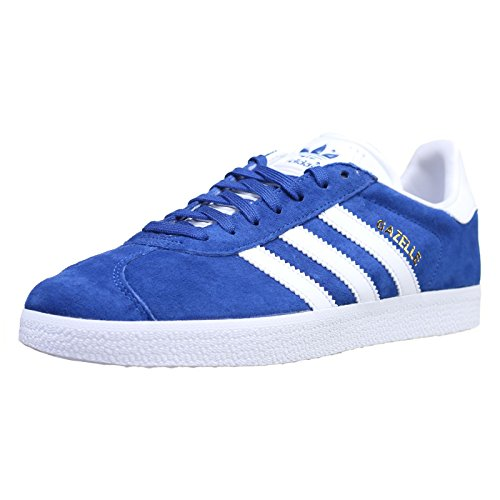 adidas Gazelle, Zapatillas de deporte Unisex Adulto, Azul (Collegiate Royal/White/Gold Metallic), 41 1/3 EU