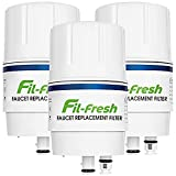 Fil-fresh 3 Pack Faucet Filter Replacement, Compatible with All Brita Faucet Water Filter, Brita 36311 On Tap Water Filtration System