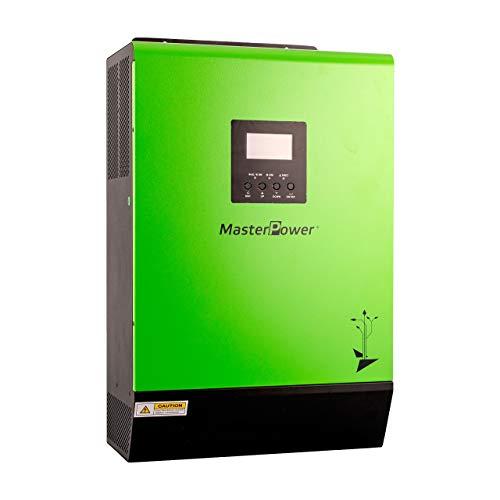 Master U-Power Inversor Cargador Hibrido PMS Top 5000W 48V MPPT 80Ah Paralelizable 6000w en...