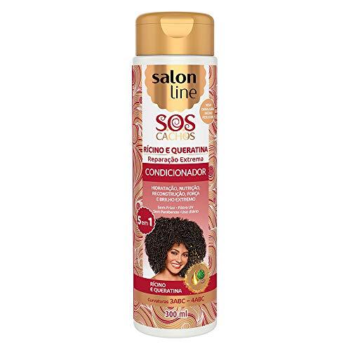 Condicionador Uso Diário 300ml SOS 5 em 1 Unit, Salon Line