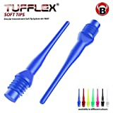 BULL'S Tufflex (2BA) Soft Tips, Blau, 6mm