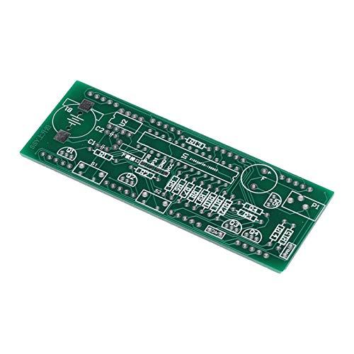 DAUERHAFT Componentes del Kit de Reloj electrónico Multifuncional Estable DIY Kit de Reloj electrónico Ligero Duradero y Resistente Componente de Pantalla LED Grande