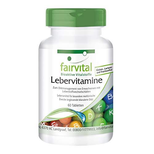 Vitaminas para el Hígado - Cardo Mariano + Alcachofa + Diente de León y más - VEGANO - 60 Comprimidos - Calidad Alemana