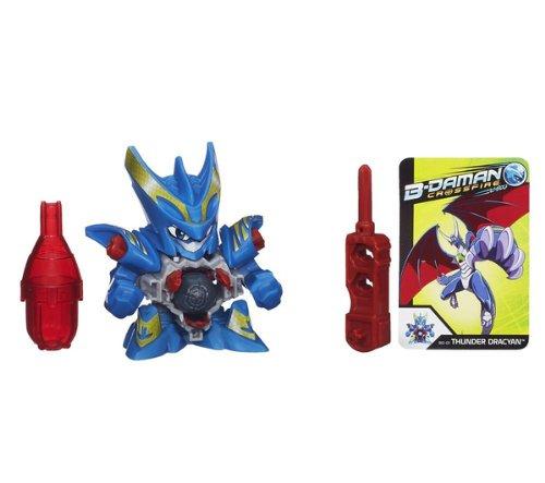 HASBRO B-Daman - Figura Thunder Dracyan