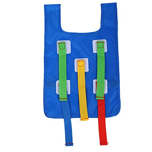 Kinderen Sticky Vest, Kids Stick Ball Vest Kinderen Sticky Grab Jersey Vest Game Vesten Kleuterschool Kids Activity Toys Vest for Kids Backyard Beach Camping Party(Lichtblauw)