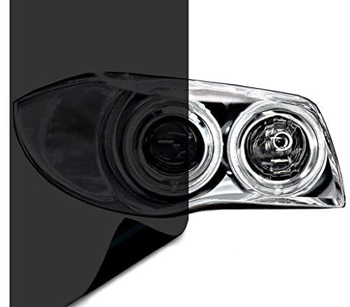 VViViD Air-Tint Dark Black Headlight/Tail Light Window Tint (Value Pack - 16 Inch x 60 Inch, 2-roll Pack)