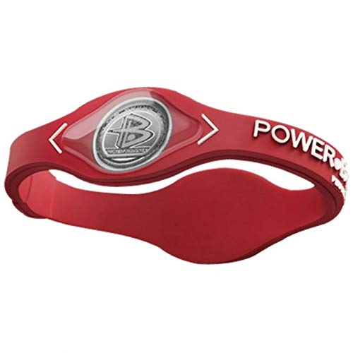 BVC Pulsera DE Equilibrio - Pulsera de Silicona Fitness Unisex - Color Rojo