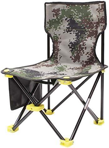 DJ Chaise Pliante Portable Ultra-léger de pêche en Plein air avec Une Petite Chaise Pliante (Taille: L33 * W33 * H53cm)