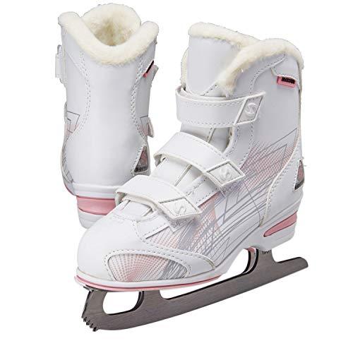 Jackson Ultima Softec Tri-Grip Youth Girls Recreational Ice Skates - Youth Size 13