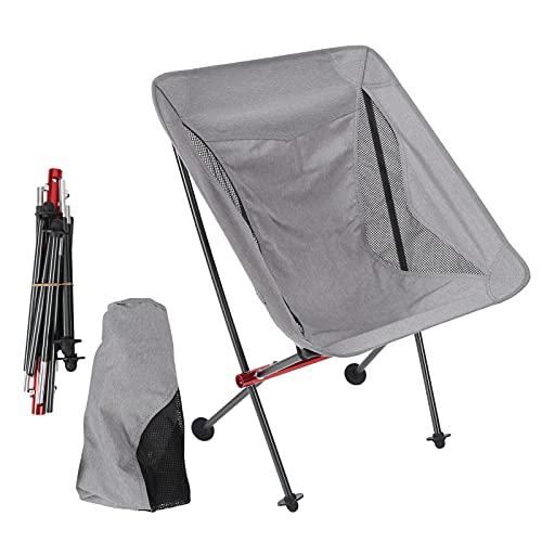 Silla para mochileros, Silla al Aire Libre Plegable Plegable para Caminar para Picnic para Barbacoa para Acampar