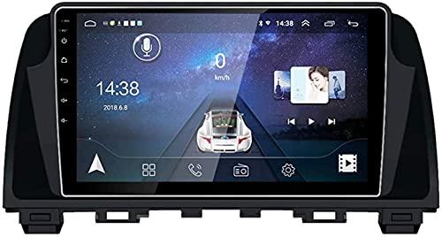 GPS Navigation Head Unit Sat Nav Auto Audio Player MP5 FM Radio Receptor Coche Stereo 6.2 Pulgadas Pantalla Táctil Android 10.0 Compatible para Mazda 6 Attz 2014-2016,4 Core 4G+WiFi 2+32GB