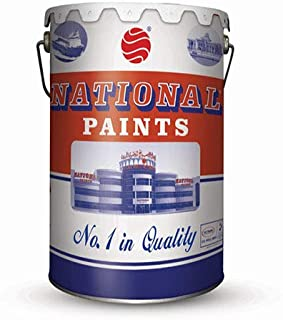 National Paint 801 Off White - Water Based 3.6L - NP-801-3.6