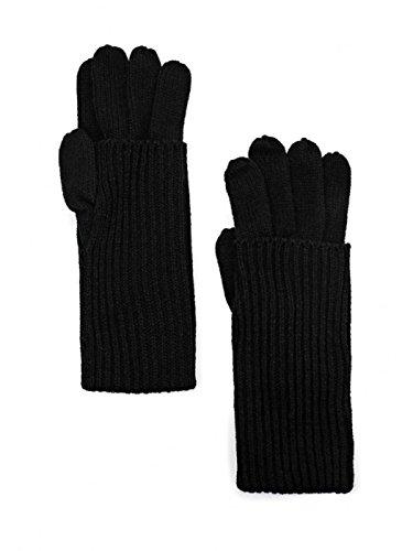 ONLY Damen Handschuhe Schwarz schwarz Medium