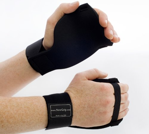 New Grip Gym Gloves - Hand Protection for Crossfit, Weight Lifting, Pull-Ups & Rowing