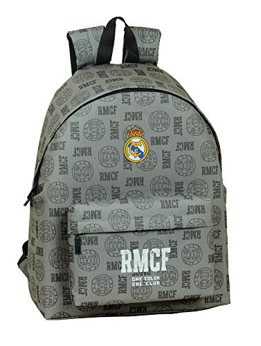Safta 642008774 Mochila grande escolar, casual Real Madrid CF