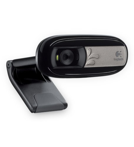 Logitech Webcam C170 Webcam 5 mégapixels Microphone intégré USB Compatible Skype/MSN/Facebook