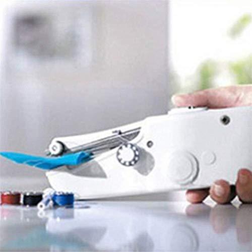 Mini portátil de Mano Máquina de Coser eléctrica sin Cable Conjunto de...